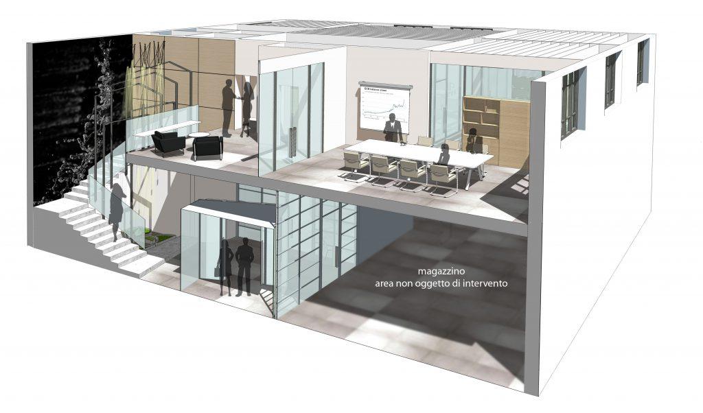 Un ufficio dinamico ideare casa